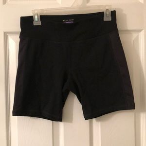 Exercise compression shorts